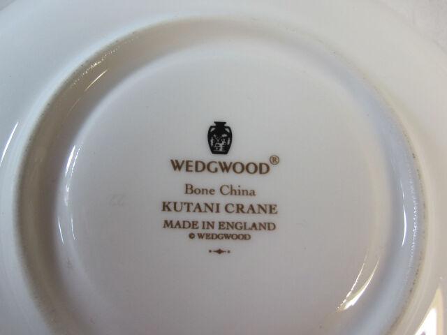 ウェッジウッド Wedgwood クタニクレーン カップ&ソーサー リー 【個数限定】