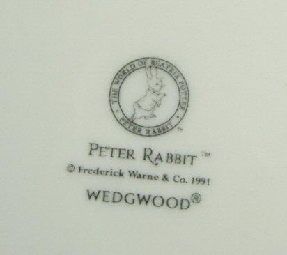 ウエッジウッド Wedgwood   ピーターラビット オリジナル 25cmプレート